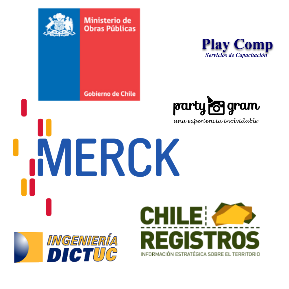 Clients: Merck, ChileRegistros, MOP